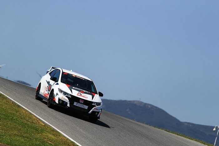 Honda Type R Car at the Portimao Autodrome Racing School