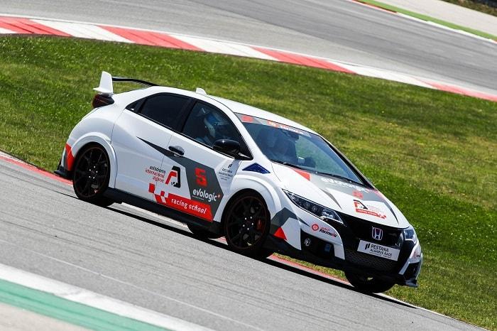 Honda Type R at the Portimao Autodrome Racing School