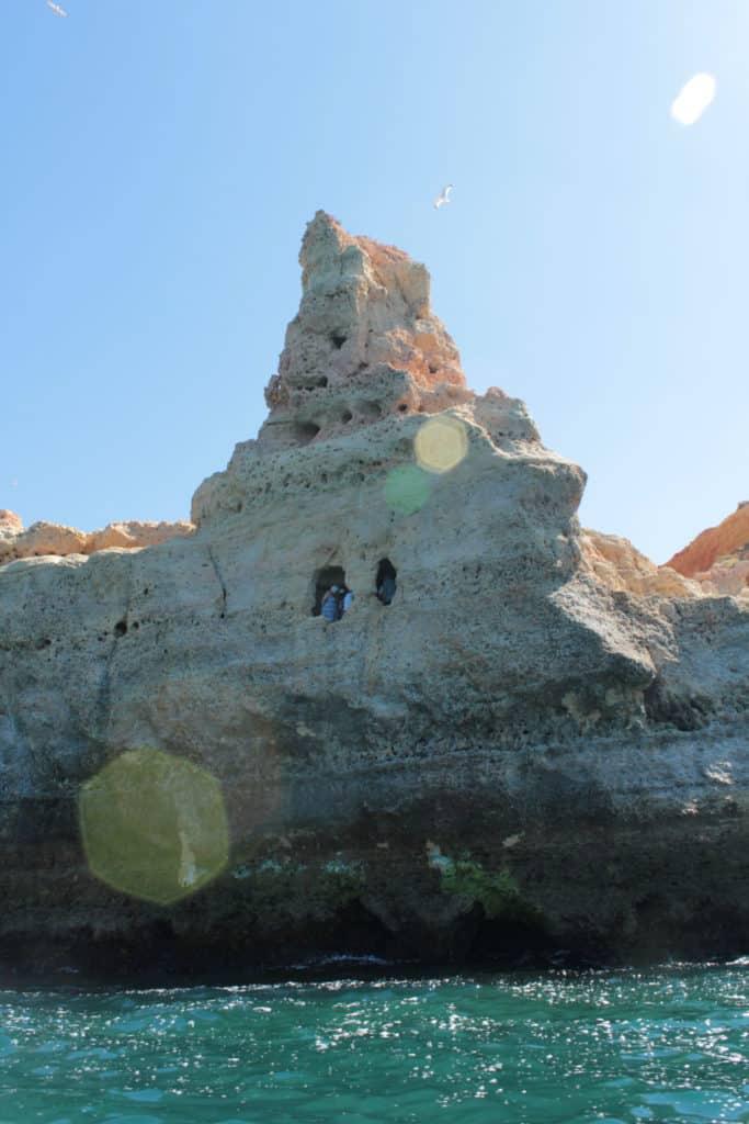 rock formation in Algar Seco