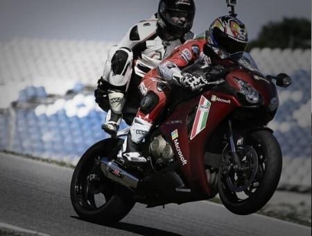 Motorbike Hot Laps At The Racing School