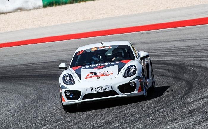 Porsche Cayman S at the Portimao Autodrome Racing School
