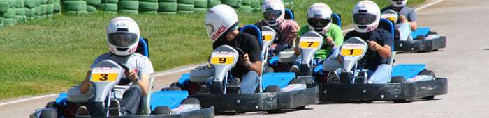 Group on Almancil Go Karting