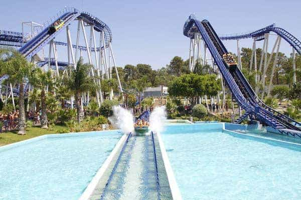 The water rollercoaster making a splash