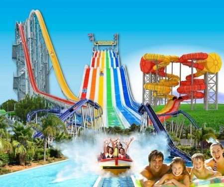 Fantastic Water Slides in Aquashow Park