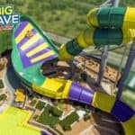 Big Wave At Slide And Splash Water Park
