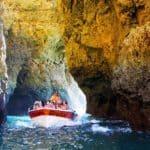 Caves Boat At Lagos Ponta De Piedade