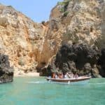 Caves Boat Trips Passes The Lagos Coast