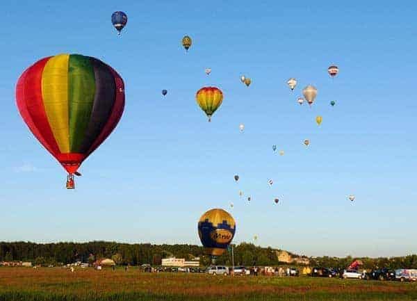 Hot Air Balloon Experience Lagos