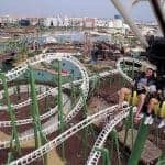 The high speed rollercoaster at Isla magica