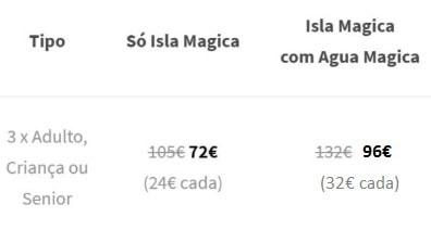 Isla Magica Precos 3 Pack