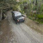 Jeep Safari on dirty road near Monchique