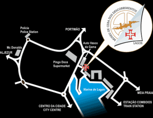 Portuguese Wax Museum - Map