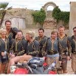 Group dressed to ride the quads