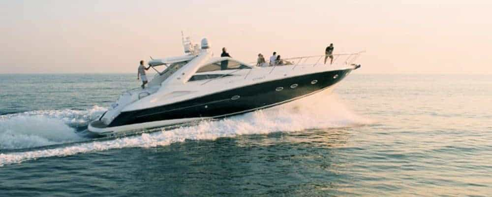 Group enjoying a private yacht vilamoura
