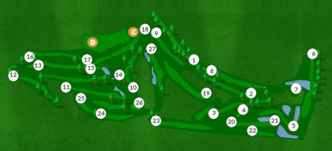 Hole To Hole - Vila Sol Golf Course