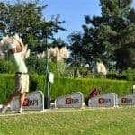 Men playing golf Vilamoura
