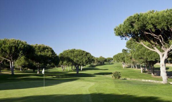 Parcours de golf pinhal en Algarve