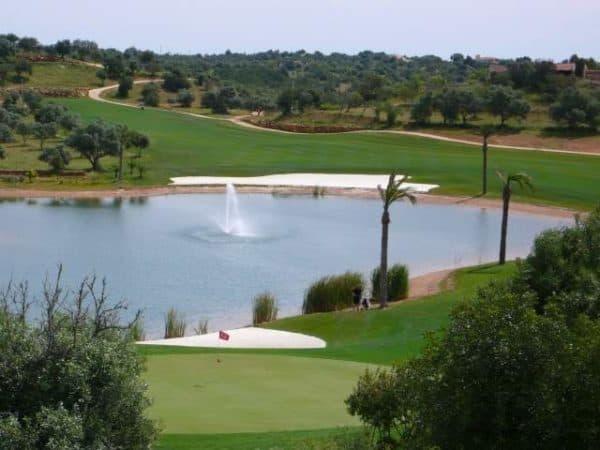 Campo de Golf com Lagoa, Silves