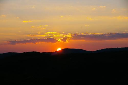 Sunset Serra