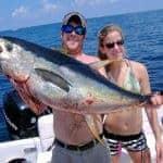 Holding a Tuna, Tuna and Dorado Fishing - Vilamoura