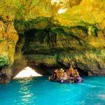 Inside Caves vilamoura boat trip