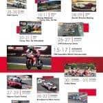Datas das corridas do Autódromo Internacional do Algarve, Portimão.