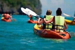 Kayak à Vilamoura