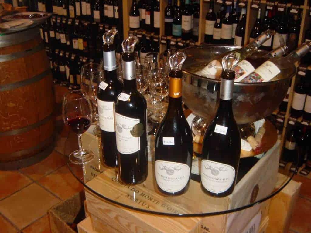 Wine tasting in Quinta dos Vales