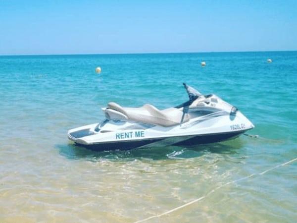 Jet Ski ready to rent Armação de Pera