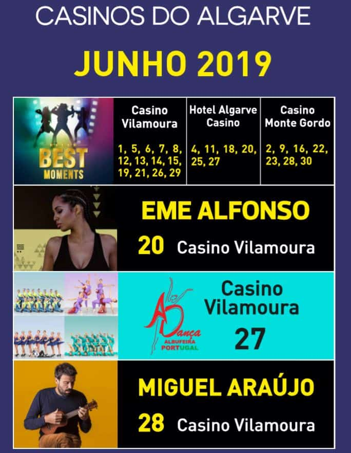 Casinos Junho