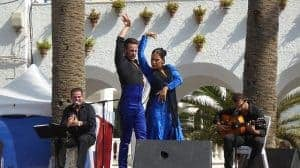 Flamenco dancers from Seville