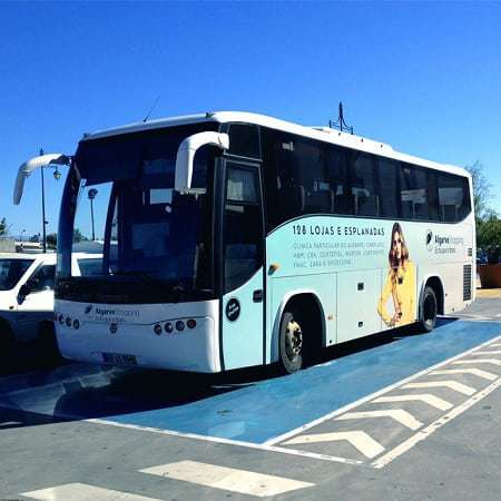 The Algarve Shopping free shuttle bus