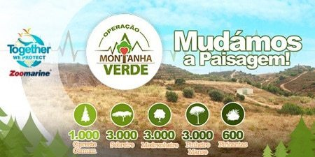Campagne de plantation d'arbres de Zoomarine