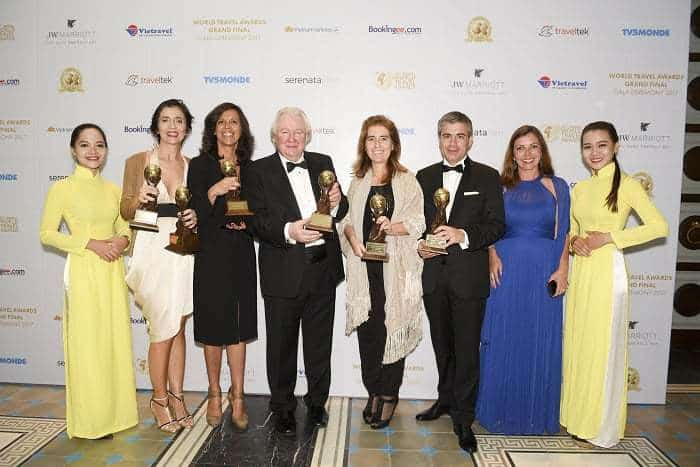 Portugal wins prizes in World Travel awards
