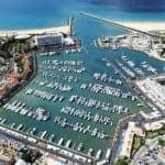 vista aérea de la Marina de Vilamoura