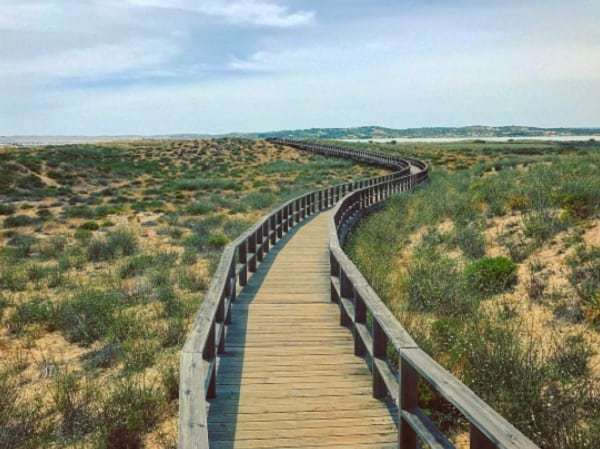 boardwalks in alvor