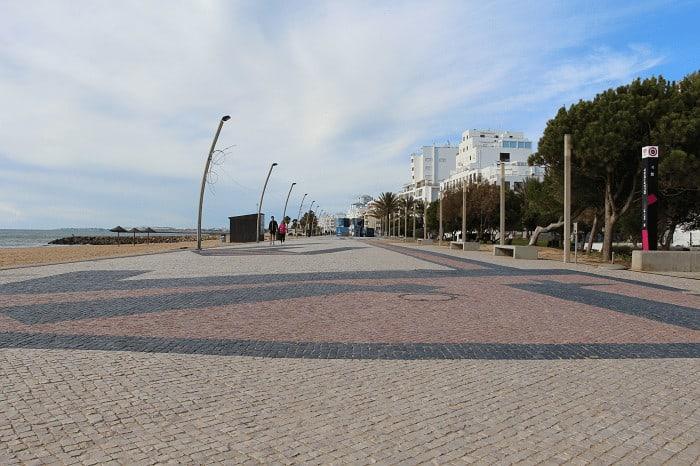 Quarteira Promenade