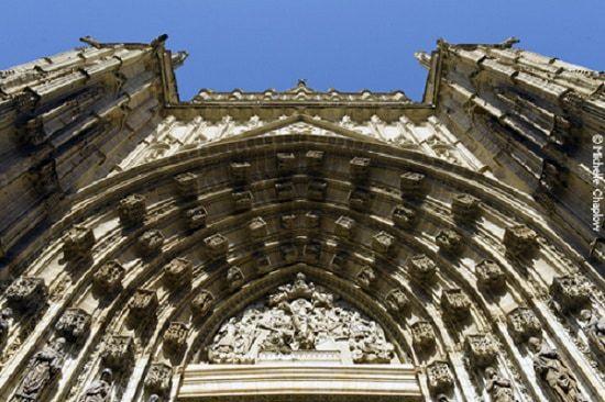 La cathédrale gothique de Séville - Puerta de Asuncion