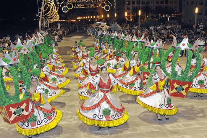 Marchas Populares in Quarteira