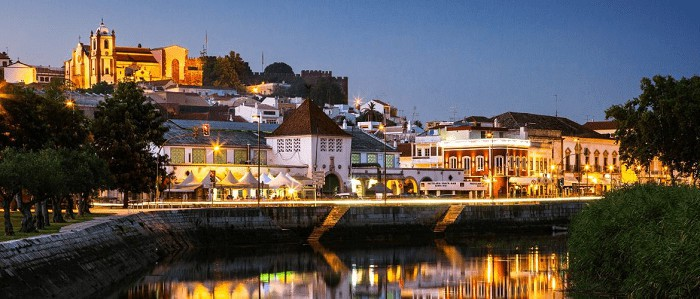 Silves in the night