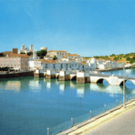 Tavira river and bridge