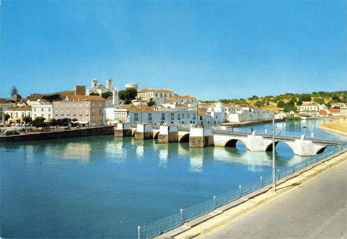 Tavira river and bridge
