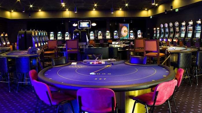 sala de juegos del casino de Monte Gordo