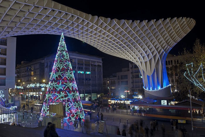 Christmas Market in Seville