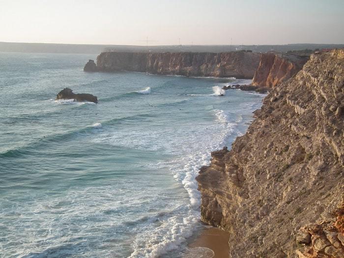 costa acantilada de Sagres