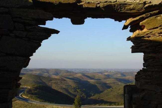 Sierra landscape near Tavira.