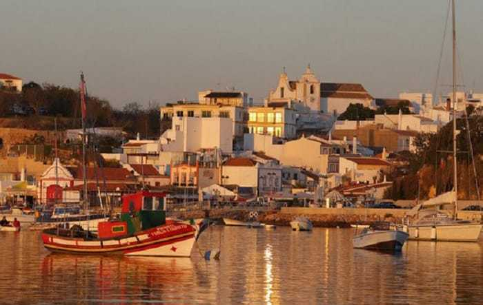 Alvor in the evening