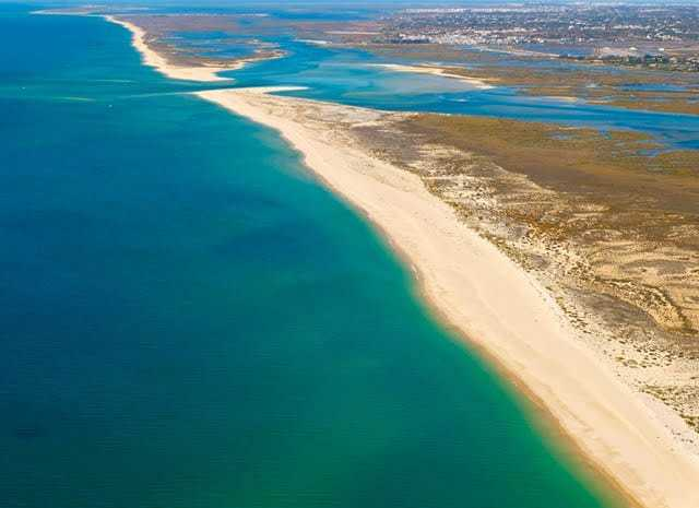 Barril Beach and Tavira islands.