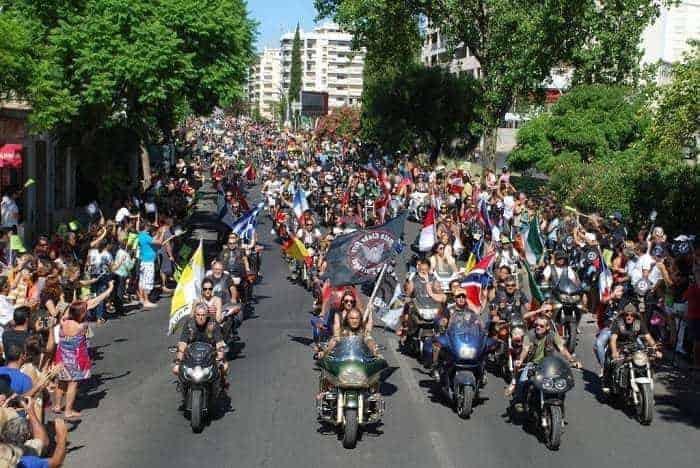 Parade de moto de Faro
