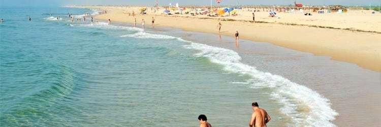 Tavira Island Beach.